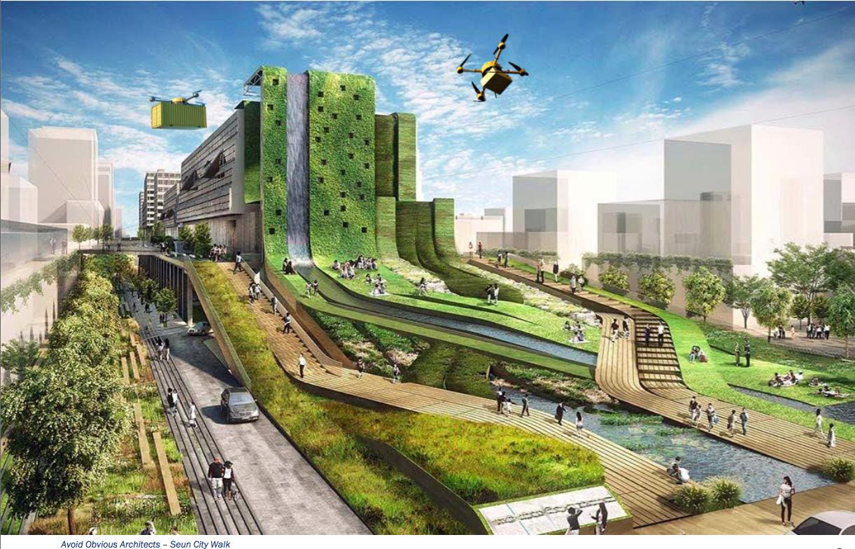 Concevoir les immeubles de demain avec le bâtiment plateforme